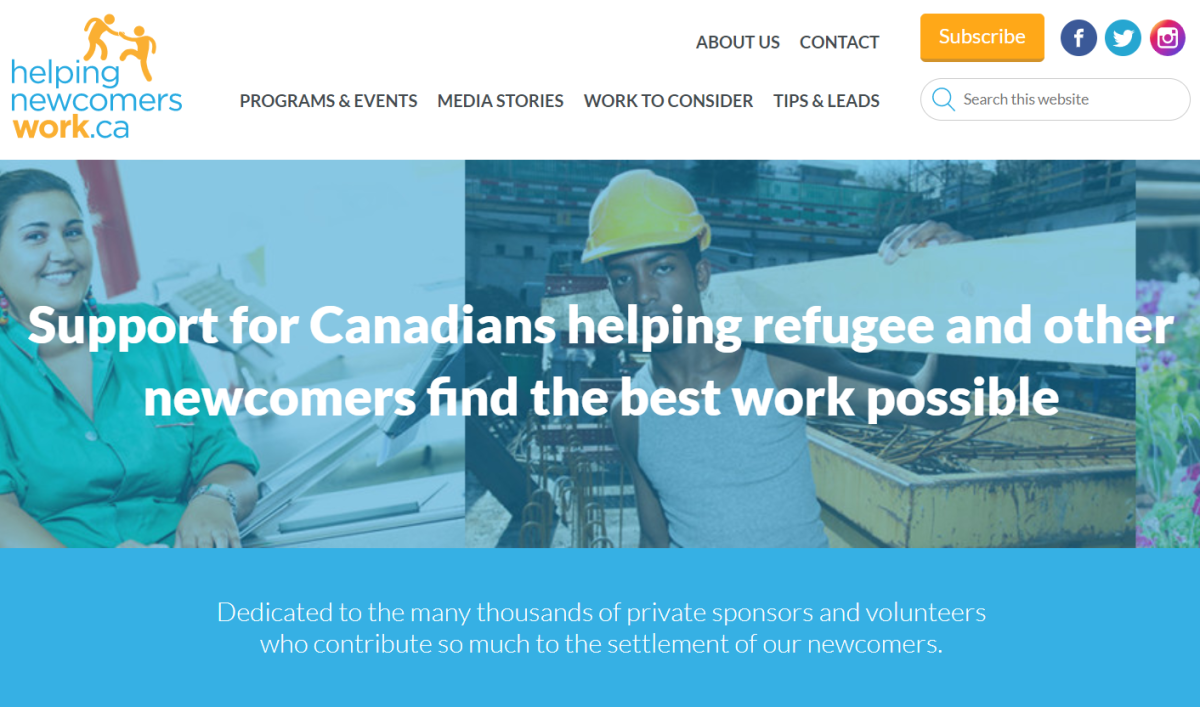 helpingnewcomerswork.ca