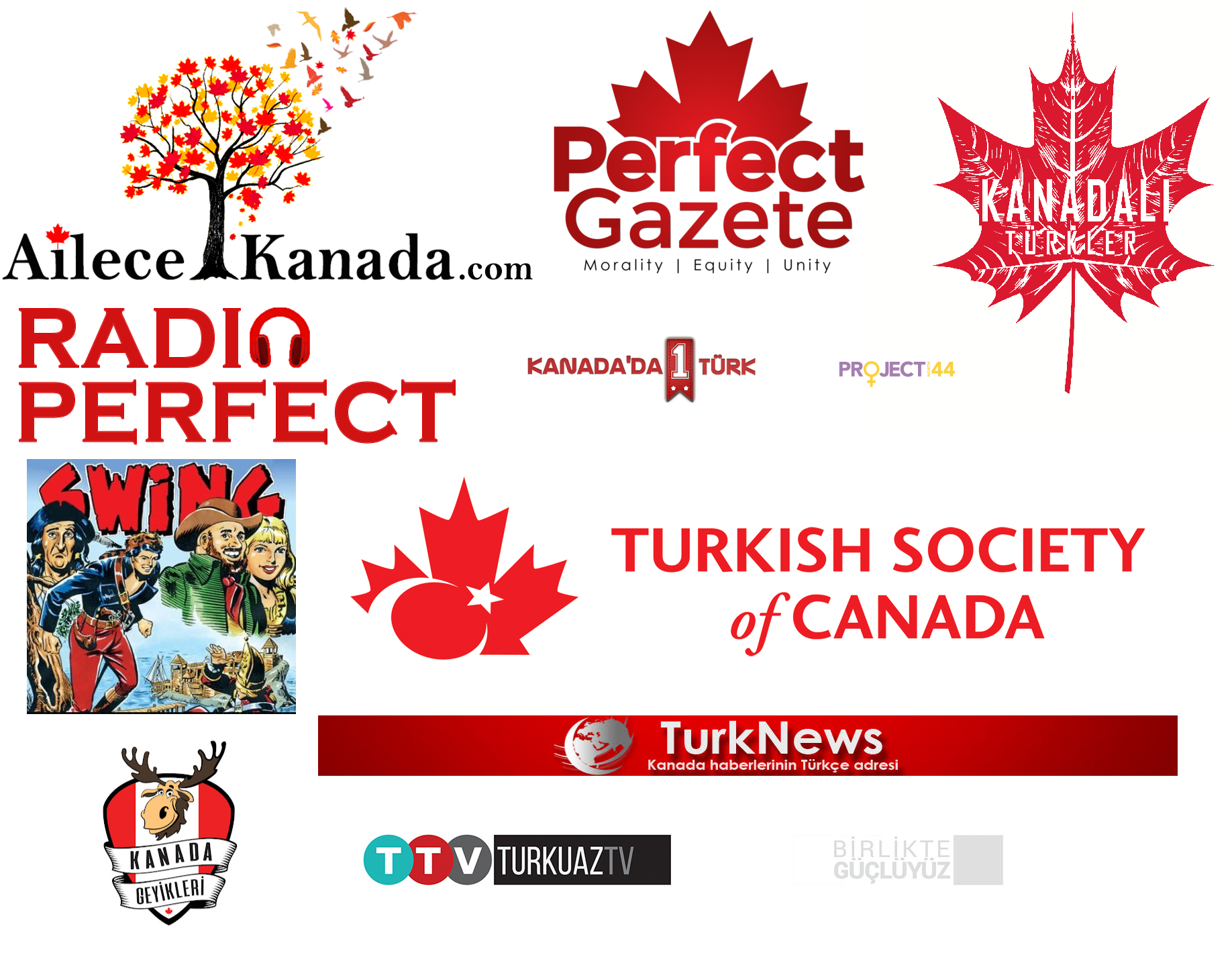 Kanada'da Faydalı Türk Oluşumları